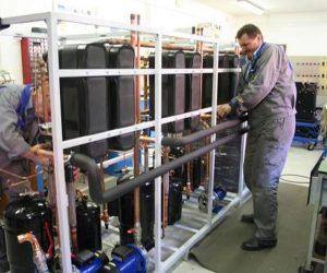 Industrijska pralnica s toplotno črpalko 23