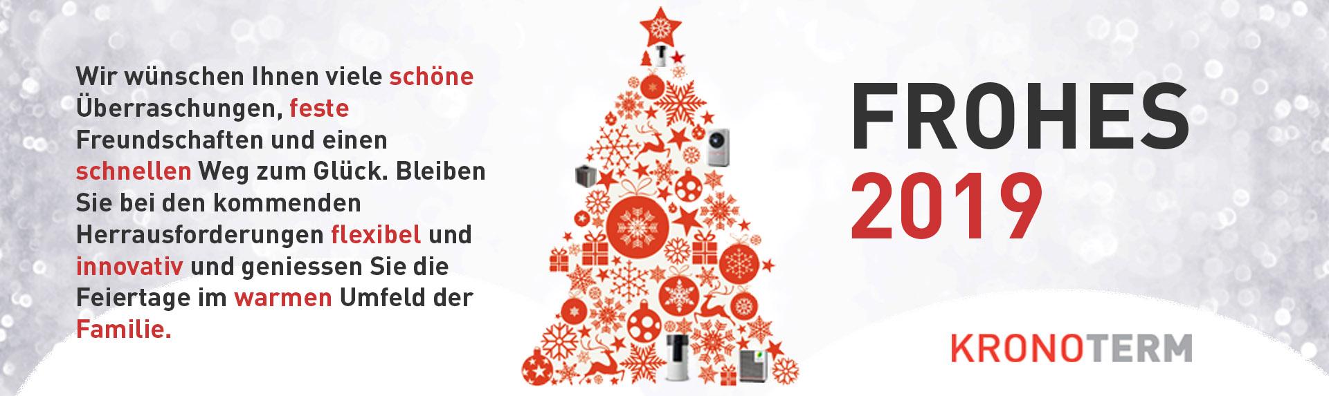 Frohe Weihnachten Und Schönes Neues Jahr.Frohe Weihnachten Und Ein Gutes Neues Jahr 2019 Kronoterm