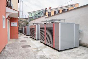 Toplotne črpalke Kronoterm, ogrevanje poslovnih prostorov